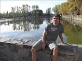 Rolando enjoying the nice day by the little lake they have in downtown Alta Gracia: by doreen-b, Views[191]