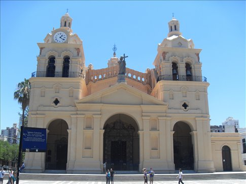 Cathedral in downtown