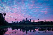 Sunrise at Angkor Wat is a time for reflection. It is a popular early morning destination for both the local Khmer people and visiting tourists. : by dougshobbrook, Views[372]