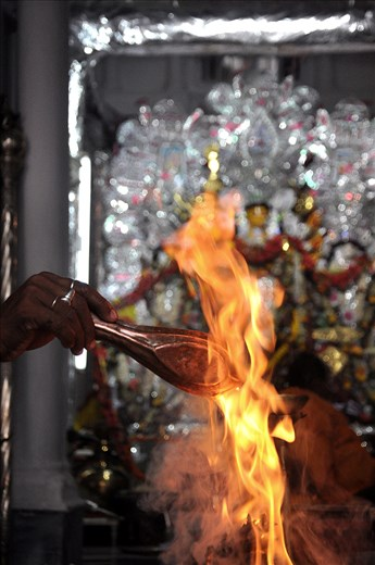 """""""YAGYA"""" IS ALSO A PROCESS AND A MUST RITUAL TO WORSHIP GODDESS DURGA."""