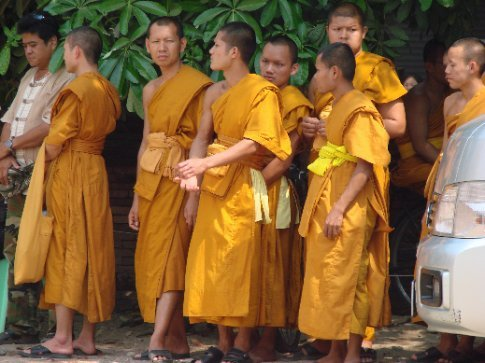 waiting for head eldest monk