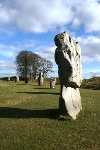Avebury - where you can walk between the stones