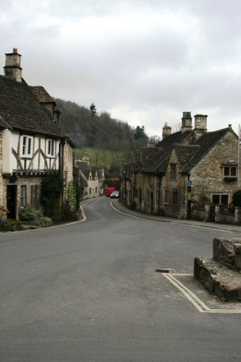 Castle Combe - also the site of some periodic movies