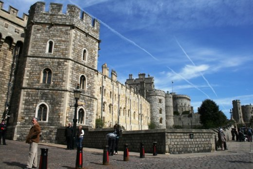 Windsor Castle on a beautiful day