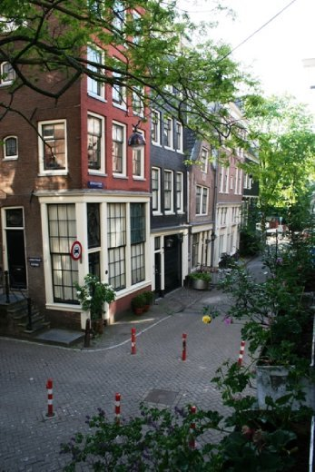 The view from our B&B in the old town