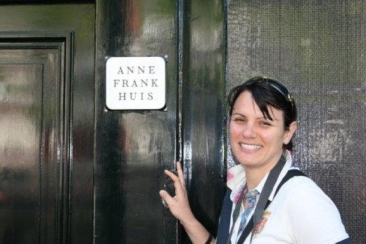 Hannah outside the AFH