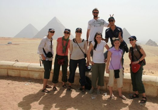 Our awesome tour group - Intrepid Extreme!