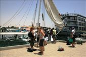 Our transport & home for the next 2 days - a felucca on the Nile: by drmitch, Views[188]
