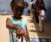 One of the kids showing off her henna tattoo before we left: by drmitch, Views[467]
