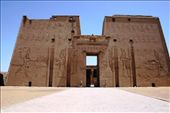 Entrance to Edfu temple, which we had almost to ourselves: by drmitch, Views[126]
