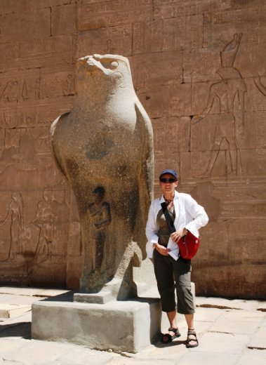 Just hanging with Horus