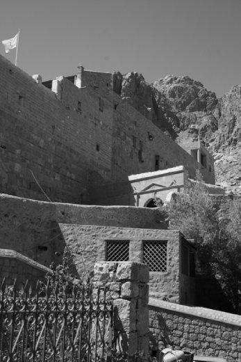 Walls around the monastery