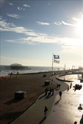An evening stroll along the waterfront towards the old West Pier: by drmitch, Views[131]