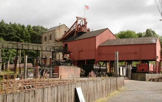 The old coal mill