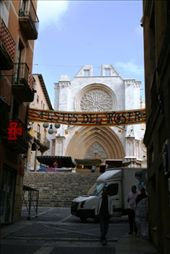 Banners flying in Tarragona for Valencia day: by drmitch, Views[166]