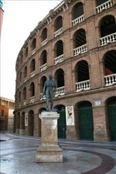 Bullfighting stadium adjacent to the train station in Valencia: by drmitch, Views[247]