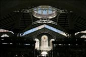 Inside the modernist Central Market (Mercado Central) - one of the largest in Europe: by drmitch, Views[211]