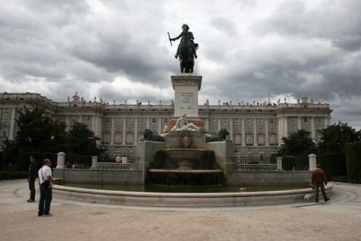 Looking towards the Royal Palace