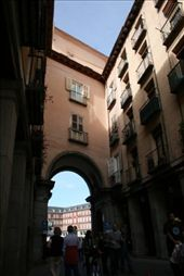 One of the entrances to Plaza Mayor: by drmitch, Views[130]