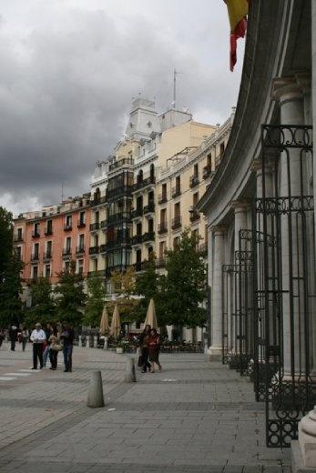 Buildings near the Palace