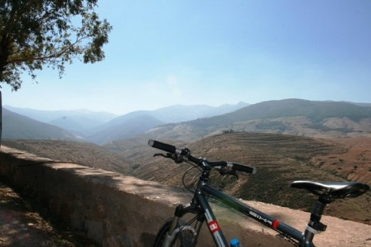 Not a bad view - well worth the pain!