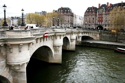 Pont Neuf (New Bridge) is, despite its name, the oldest standing bridge across the river Seine in Paris, France.
