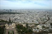 I could see just how far I'd walked from the Arc du Triomphe to the Eiffel Tower: by drmitch, Views[171]