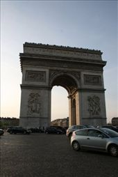 Arc du Triomphe at the end of the day: by drmitch, Views[92]