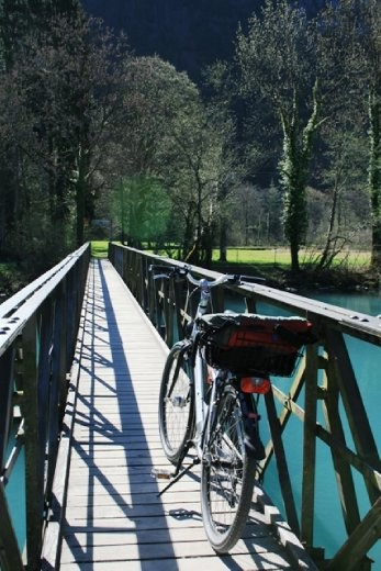 Biking in Interlaken