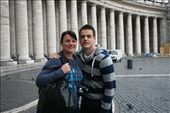 Posing in the square outside the Vatican: by drmitch, Views[223]