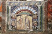 House of Neptune & Amphitrite - some amazing stucco murals on the walls: by drmitch, Views[733]