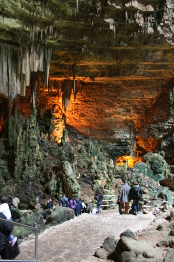 We were only allowed to take photos in the entrance cave, mainly to stop people lagging behind