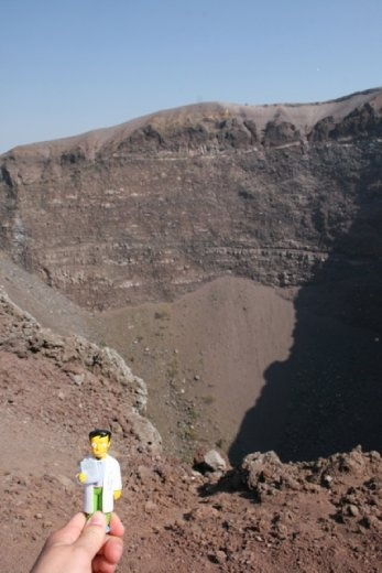 Summiting Mount Vesuvius