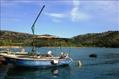Finally back at the harbour in the town of Skradin, the entrance to the park: by drmitch, Views[91]