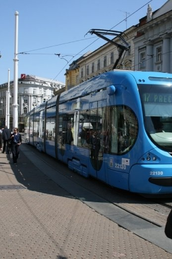 The very easy and pleasant to use tram system - if only we had this in Auckland NZ