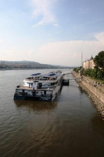 Boat on the Danube River