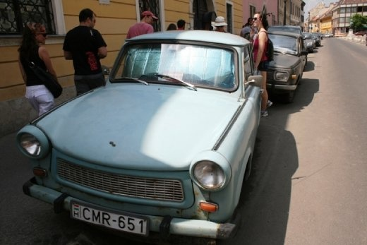 Soviet-era car with a 10-20 year waiting list to buy