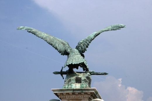 Turulbird - mythological Turul (falon-type bird) that appeared in a dream to the wife of the Magyar leader Ügyek and told her that she would be the founding mother of a new nation.