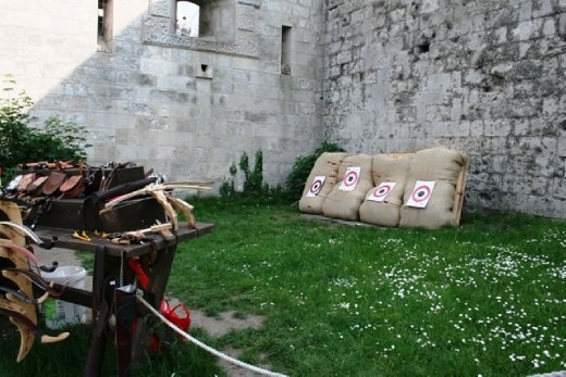 You could even have a go at some archery by the memorial