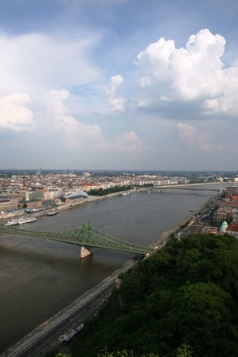 Another view of the Danube from Gellert Hill