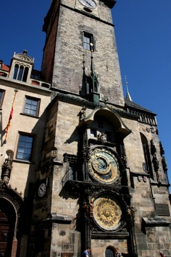 Prague Astronomical Clock - first installed in 1410, making it the third-oldest astronomical clock in the world and the only one still working.
