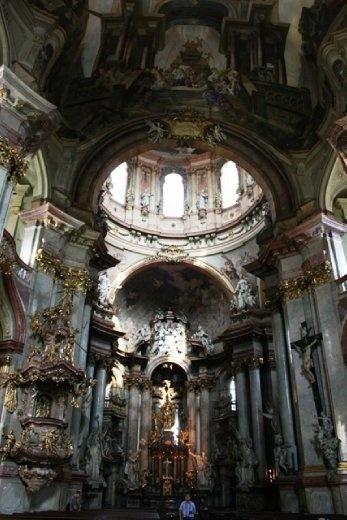 Interior of St Nicholas Church
