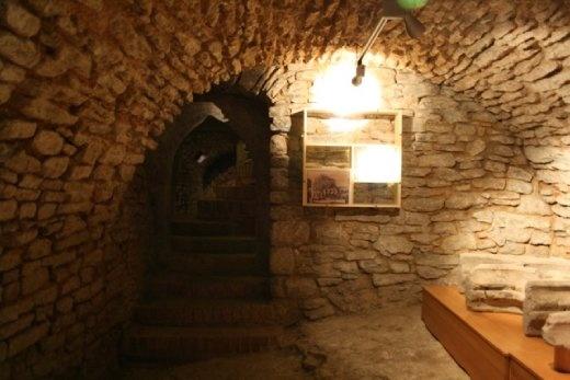 The cellar beneath the Stone House