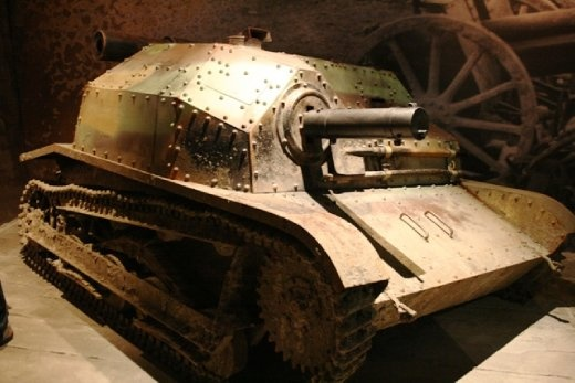 Tank in the Schindler Museum