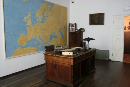 Oscar Schindlet's office in the Enamelfabriek