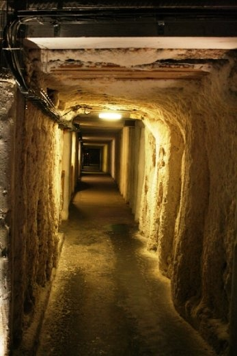 Wandering through the passages of the mine which continuously produced table salt from the 13th century until 2007 as one of the world's oldest operating salt mines,