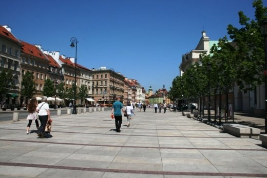 Warsaw's Old Town is the oldest historic district of the city & after World War II, was meticulously rebuilt using as many of the original bricks as possible.