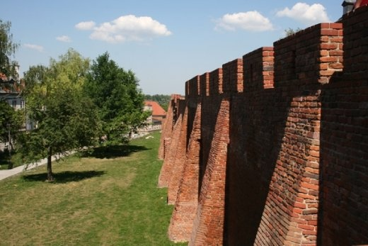 Part of the walls that used to encircle the city