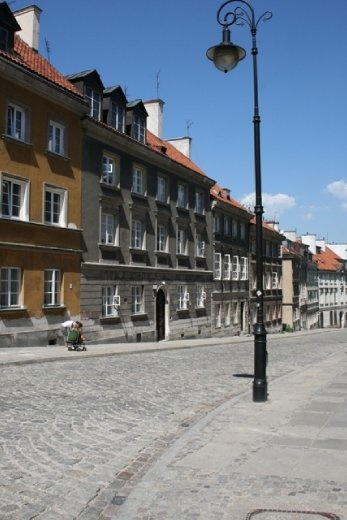 Cobbled streets of the Old Town
