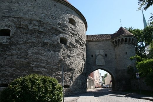 Entering the Old City through the Great Coastal Gate with Fat Margaret's tower on the left